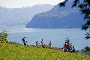 Randonnée au lac du Bourget