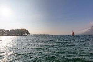 Voile lac du Bourget-Monica_Dalmasso