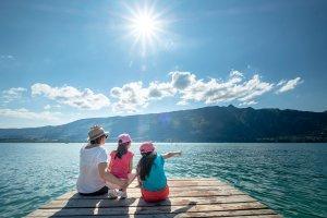 Lac du Bourget sur le ponton du Lido - Tristan Shu